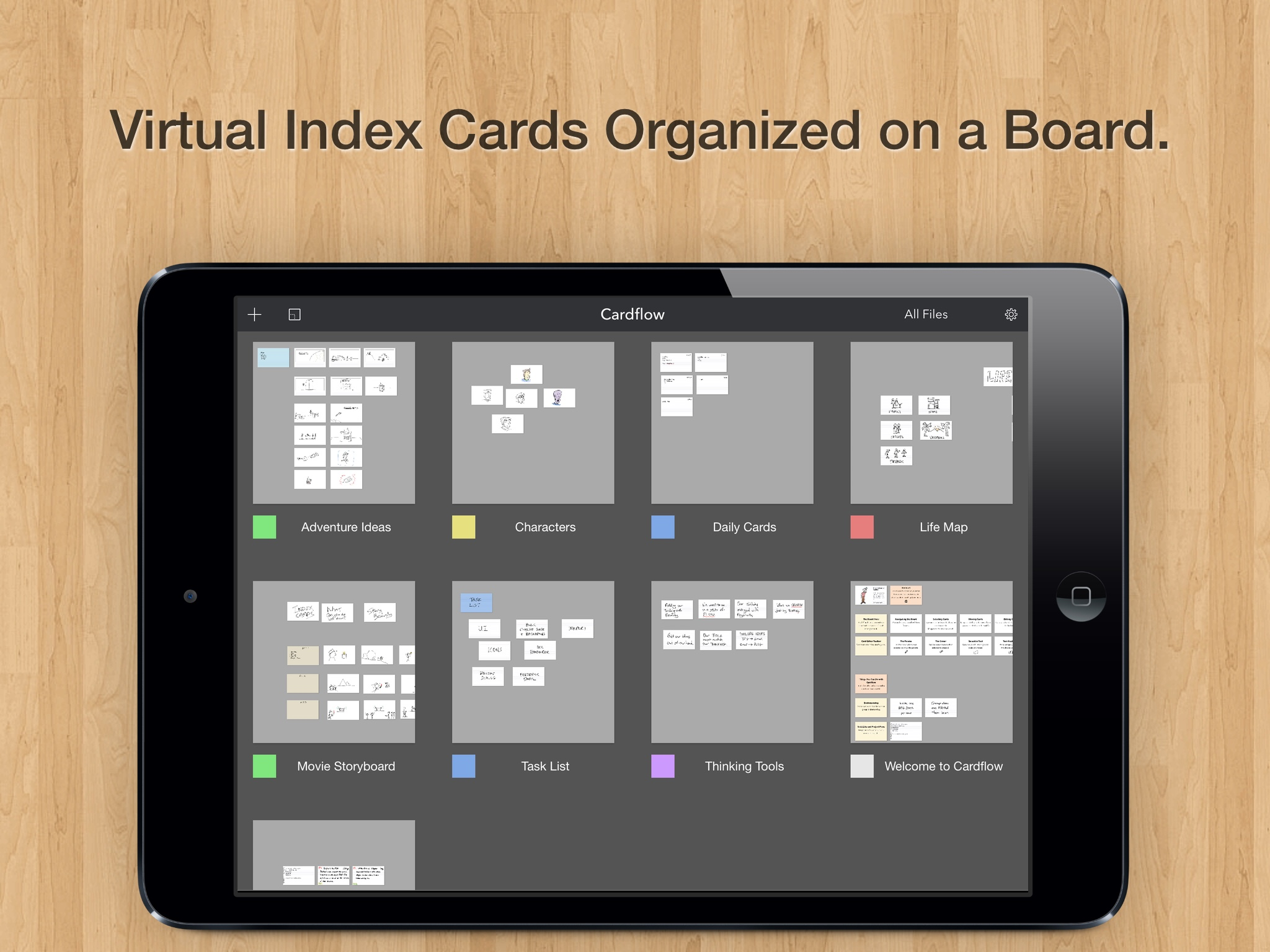 Cardflow Index Cards On Your Ipad Cube Hopper Mk2 Wiring Diagram Screenshot 1