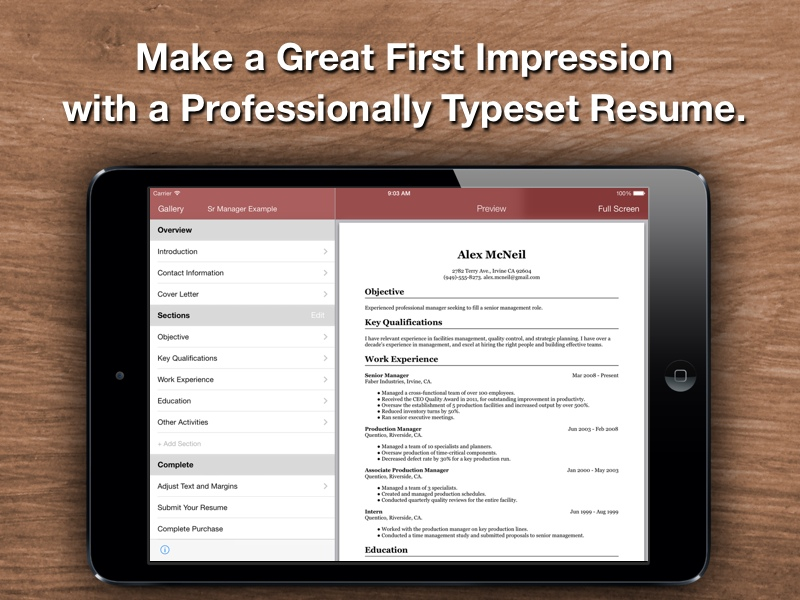 Resume Star Top Rated Designer For The IPhone IPad