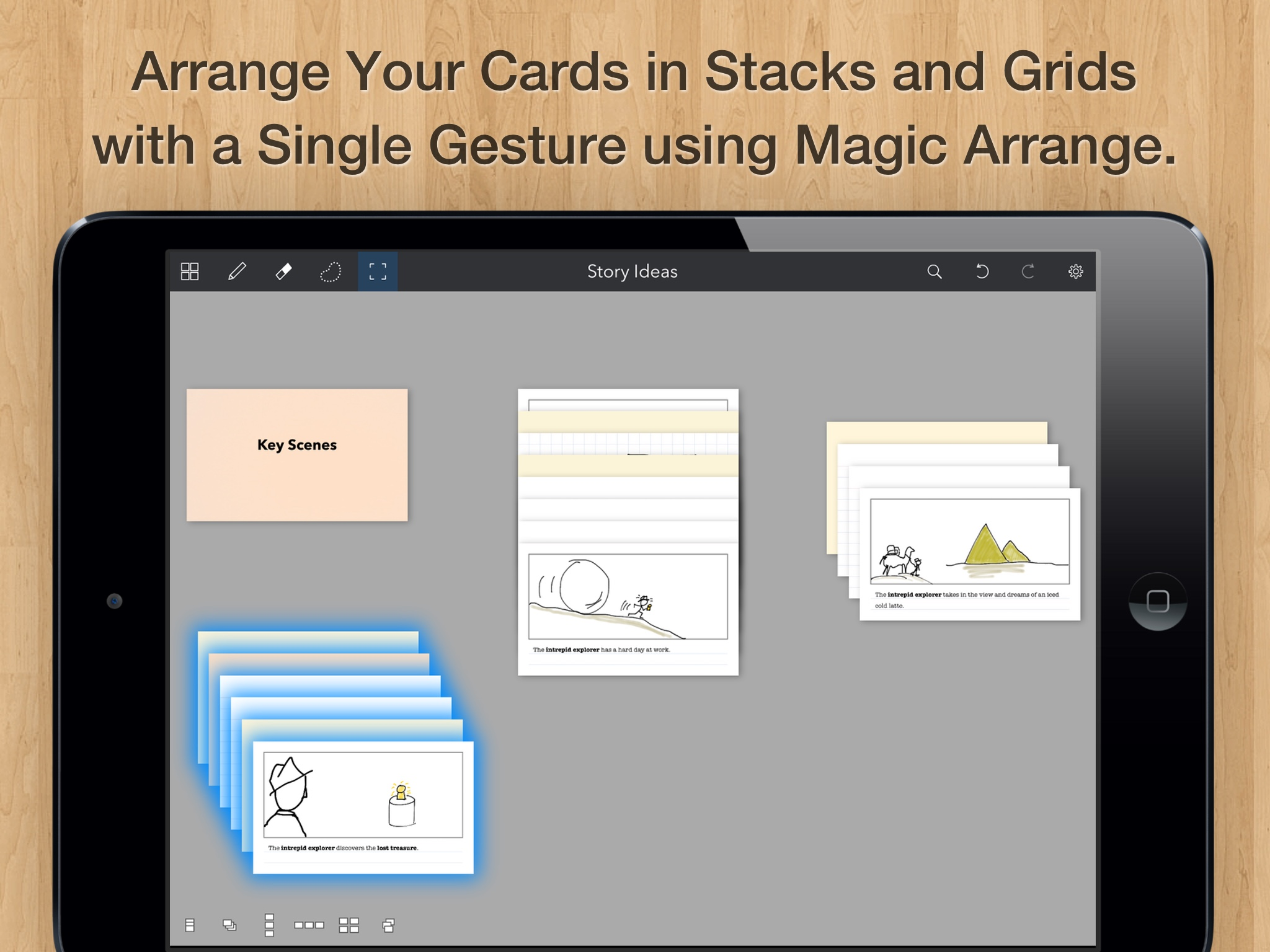 Cardflow The Best Index Card App for the iPad