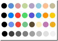Inkflow palette colors