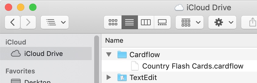 Cardflow: Index Cards on your iPad